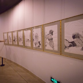 "View of the ""Beijing Exhibition of Chinese Painting and Calligraphy by Shi Hu"" 10 290x290 - Beijing Exhibition of Chinese Painting and Calligraphy by Shi Hu grandly opened at National Art Museum of China"