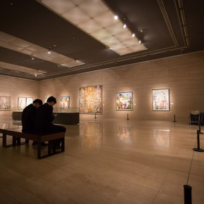 "View of the ""Beijing Exhibition of Chinese Painting and Calligraphy by Shi Hu"" 12 290x290 - Beijing Exhibition of Chinese Painting and Calligraphy by Shi Hu grandly opened at National Art Museum of China"