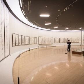 "View of the ""Beijing Exhibition of Chinese Painting and Calligraphy by Shi Hu"" 14 290x290 - Beijing Exhibition of Chinese Painting and Calligraphy by Shi Hu grandly opened at National Art Museum of China"