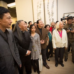 "View of the opening ceremony of ""Beijing Exhibition of Chinese Painting and Calligraphy by Shi Hu""07 290x290 - Beijing Exhibition of Chinese Painting and Calligraphy by Shi Hu grandly opened at National Art Museum of China"