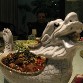Wang Chuan Dinning Table 30x20cm 290x290 - Wang Chuan: Colorful Solo Exhibit at Pékin Fine Arts Beijing