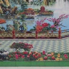 Wang Chuan Farmhouse 60x40cm 290x290 - Wang Chuan: Colorful Solo Exhibit at Pékin Fine Arts Beijing