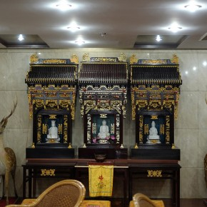 Wang Chuan Lobby 02 60x40cm 290x290 - Wang Chuan: Colorful Solo Exhibit at Pékin Fine Arts Beijing
