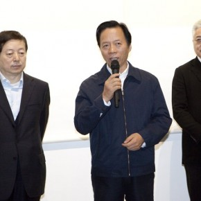 Wang Wenzhang Head of Chinese National Academy of Arts spoke at the opening 290x290 - Veneer of the World: Xu Lei Solo Exhibition at Today Art Museum