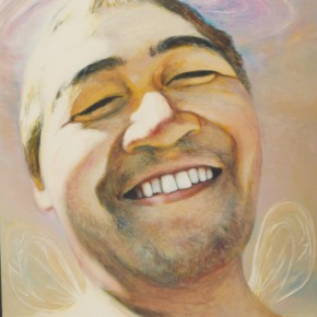 Xia Xiaowang Self portrait 290x290 - We: 1994-2013Collective Exhibitionof China SongZhuangArtists Held in Beijing