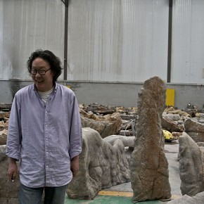 """Xu Bing and the Stones of """"Travelling to the Wonderland"""" 290x290 - Travelling to the Wonderland: A New Installation by Xu Bing to be Presented at the V&A Museum"""