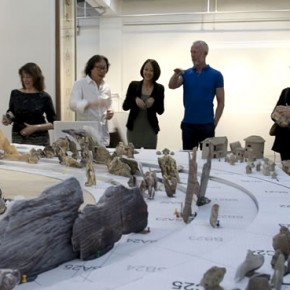 Xu Bing talked with V&A Press