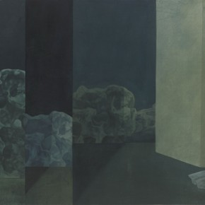 Xu Lei Empty Reflection 1997 Chinese ink and mineral color on paper 64×105cm 290x290 - Xu Lei