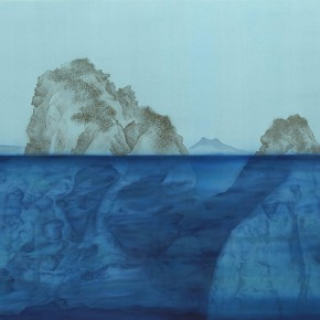 """Xu Lei The Moral Integrity Fan Kuan Ink and color on silk 104×195cm 290x290 - Exhibition of Xu Lei's Major Works Entitled """"Veneer of the World"""" Opening October 20 at Today Art Museum"""