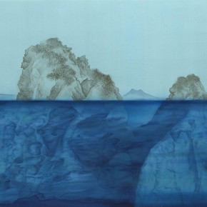 Xu Lei The Moral Integrity Fan Kuan Ink and color on silk 104×195cm3 290x290 - Veneer of the World: Xu Lei Solo Exhibition at Today Art Museum