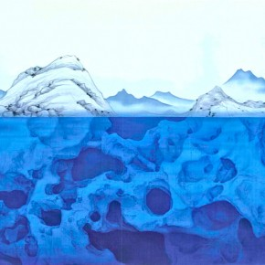 Xu Lei Visions of Nature 2013 Ink and color on silk 89×149cm2 290x290 - Veneer of the World: Xu Lei Solo Exhibition at Today Art Museum