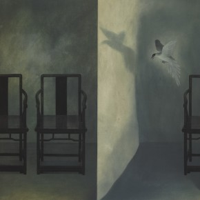 Xu Lei Wandering in the night 1996 Ink and color on paper 65×103cm 纸本 1996 290x290 - Xu Lei
