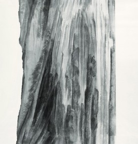 "Xu Longsen ""Jade Out of Kunlun Mountains No.1"" 1030 x 292 cm ink on paper 2008 2009  277x290 - Landscape Paintings of Xu Longsen Exhibiting at the Art Museum of Nanjing University of the Arts"