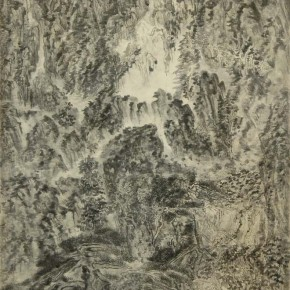 "Xu Longsen ""Millions of Trees in the Wind"" 540 x 360 cm ink on paper 2003 2007 290x290 - Landscape Paintings of Xu Longsen Exhibiting at the Art Museum of Nanjing University of the Arts"