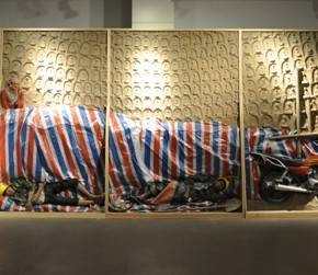 Yang Qirui Folk Artist 290x251 - The Zero State – First China Installation Art Biennale 2013 to be Presented in Beijing and Tianjin