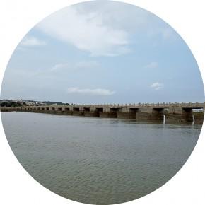 """Zhai Bo """"Luoyang Bridge"""" 290x290 - Elegant Ancient Bridges – Guan Guangzhi, Guan Naiping, Zhai Xinjian and Zhai Bo's Exhibition at CAFA"""