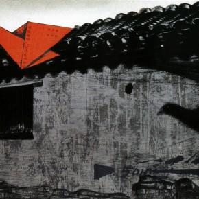 "Zhang Guilin ""A Paper Crane's Flying in the Hutong"" serigraphy 47 x 70 290x290 - Zhang Guilin"