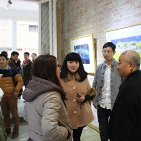 "01 View of the opening of ""Ignorance is Bliss"" Zhang Guilin Works Exhibition  290x290 - Ignorance is Bliss: Works by Zhang Guilin Exhibiting in Pure Ground Gallery"