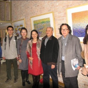 "03 View of the opening of ""Ignorance is Bliss"" Zhang Guilin Works Exhibition  290x290 - Ignorance is Bliss: Works by Zhang Guilin Exhibiting in Pure Ground Gallery"