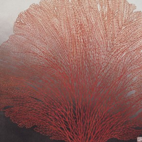 06 Red Coral 290x290 - The 60th Anniversary Art Exhibition of Jiang Caiping on Display at the National Art Museum of China