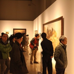 11 Large scale Retrospective Exhibition of Zhong Han Grandly Unveiled at the Art Museum of the Chinese Academy of Oil Painting 290x290 - Large-scale Retrospective Exhibition of Zhong Han Grandly Unveiled at the Art Museum of the Chinese Academy of Oil Painting