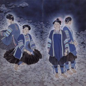 12 The Evening of March 3 according to the traditional Chinese calendar 290x290 - The 60th Anniversary Art Exhibition of Jiang Caiping on Display at the National Art Museum of China