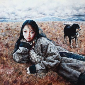 "Ai Xuan ""Autumn Wind Swept the Wilderness""  290x290 - The 9th Anniversary Ehxibition of the China Realism Oil Painting to be Unveiled at National Art Museum of China"
