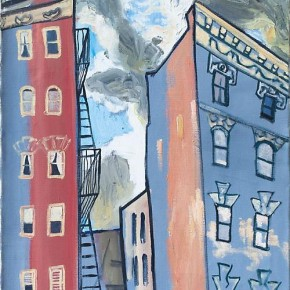 "Alice Neel Sunset in Spanish Harlem 1958 oil on canvas 39 x 22 inches Collection of AXA Equitable New York. Photo by Jason Mandella 290x290 - Sundaram Tagore Singapore presents ""To Be a Lady"" featuring an international selection of women artists"