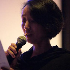 """Artist Xiang Jing recited the poetry """"The Law of City"""" by Zhai Yongming 01"""
