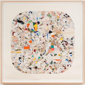 """Austin Thomas Round Place Square 2010 collage with ink and graphite 42 x 42 inches Private collection Brooklyn New York courtesy Norte Maar 290x290 - Sundaram Tagore Singapore presents """"To Be a Lady"""" featuring an international selection of women artists"""