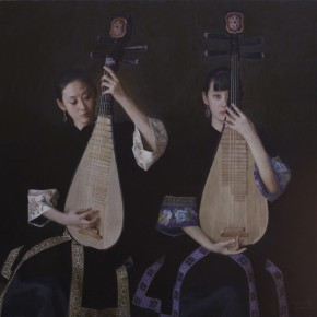 "Chen Yanning ""Bosom Friends"" 290x290 - The 9th Anniversary Ehxibition of the China Realism Oil Painting to be Unveiled at National Art Museum of China"