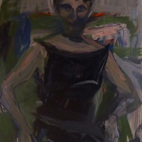 """Elaine de Kooning The Woman Who Didn't Show Up 1962 oil on canvas 60.5 x 40.5 inches Levis Fine Art New York 290x290 - Sundaram Tagore Singapore presents """"To Be a Lady"""" featuring an international selection of women artists"""