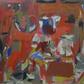 "Janice Biala Red Still Life 1957 oil on canvas 35 x 46 inches Estate of Janice Biala courtesy Tibor de Nagy Gallery New York 290x290 - Sundaram Tagore Singapore presents ""To Be a Lady"" featuring an international selection of women artists"