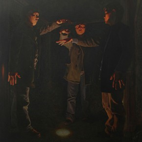 Jiang Cheng, Manmansaisai-L3, 2013; Oil on canvas, 190x260cm