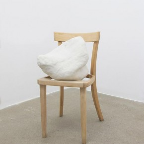 "Kristen Jensen Untitled 2012 unglazed porcelain and white oak 31 x 15 x 19 inches Courtesy of the artist and Norte Maar 290x290 - Sundaram Tagore Singapore presents ""To Be a Lady"" featuring an international selection of women artists"