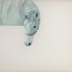 Li Guanguan One Third No.3 2013 Ink on Silk 87×108cm 290x290 - Guanguan's Horse – Solo Exhibition by Li Guanguan at Triumph Art Space
