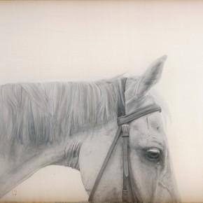 Li Guanguans work Ink on silk 290x290 - Guanguan's Horse – Solo Exhibition by Li Guanguan at Triumph Art Space
