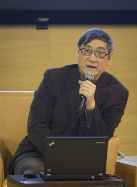 Pan Gongkai gave a lecture on The Boundary and End of Art 02