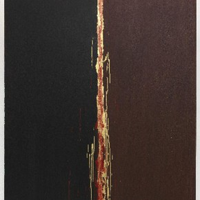 "Pat Steir Painting with Red and Gold in the Center 2012 oil on canvas 60 x 50 inches Courtesy of the artist and Cheim Read New York 290x290 - Sundaram Tagore Singapore presents ""To Be a Lady"" featuring an international selection of women artists"