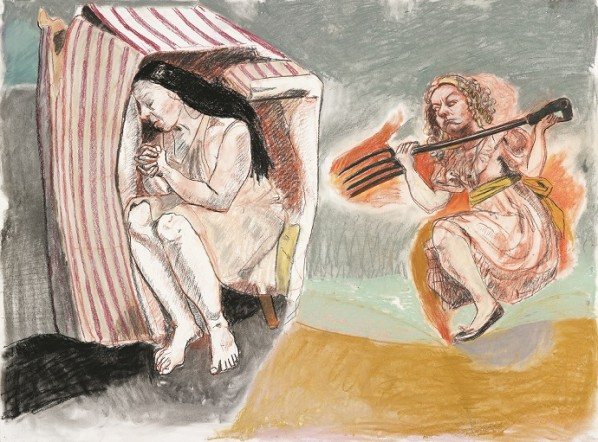 Paula Rego, Revenge, 2011
