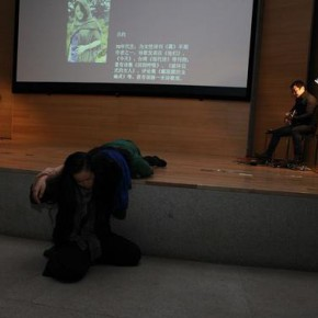 "Performing of modern dance cooperated with the poetry recital 290x290 - ""The Soul Has a Pair of Wings"" Night of Poetry Recital at CAFA Art Museum"