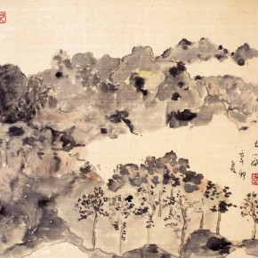 Shao Dazhen, Cool Summer, 2011; Ink on paper, 42×44cm