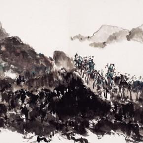 Shao Dazhen, Morning Breeze, 2010; Ink on Paper, 43×71cm