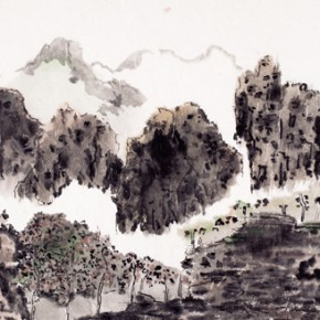 Shao Dazhen, Morning Song, 2011; Ink on paper, 50×91cm