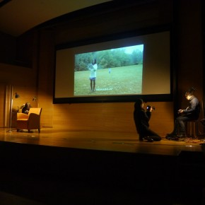 """View of """"The Soul Has a Pair of Wings"""" Night of Poetry Recital  03"""