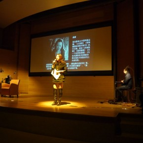 """View of """"The Soul Has a Pair of Wings"""" Night of Poetry Recital 04"""