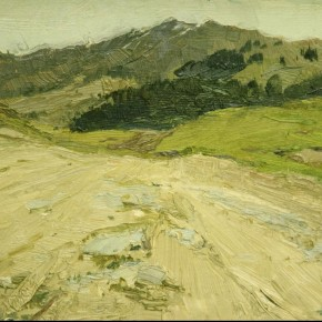 Work by Zhong Han 10 290x290 - Large-scale Retrospective Exhibition of Zhong Han Grandly Unveiled at the Art Museum of the Chinese Academy of Oil Painting