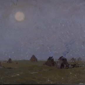 Work by Zhong Han 13 290x290 - Large-scale Retrospective Exhibition of Zhong Han Grandly Unveiled at the Art Museum of the Chinese Academy of Oil Painting