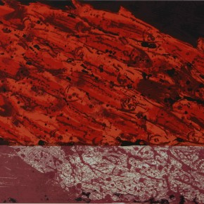 "Zhang Guilin ""Life No.9"" serigraphy 38 x 65 cm 2004 290x290 - Ignorance is Bliss: Works by Zhang Guilin Exhibiting in Pure Ground Gallery"