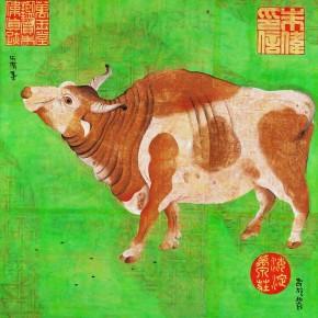 "Zhu Wei ""China Diary No.54"" 193 x 194 cm 2001 290x290 - Representative Ink Paintings by Zhu Wei Presented by Today Art Museum"